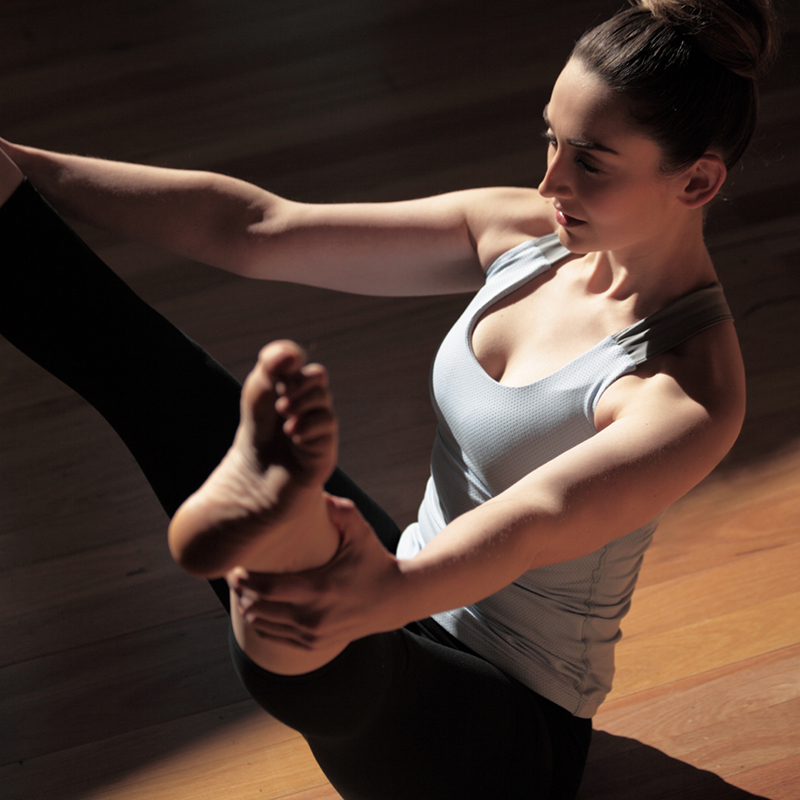 Peta Serras Pilates Stretching